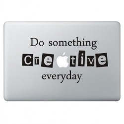 Creative Macbook Aufkleber