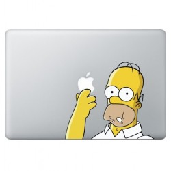 Homer Simpsons (2) Macbook Aufkleber