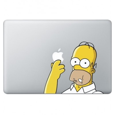 Homer Simpsons (2) Macbook Aufkleber Fabrige MacBook Aufkleber
