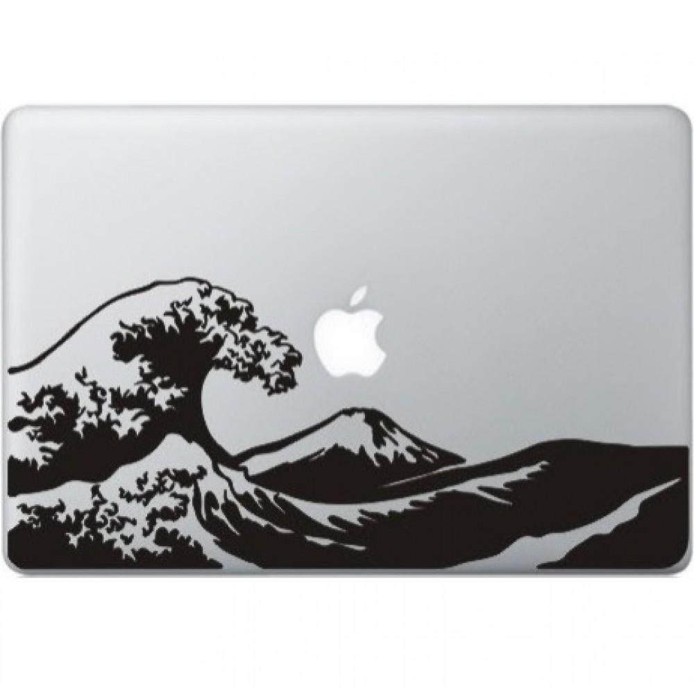 Die Große Welle Von Kanagawa Macbook Aufkleber Macskins Macbook