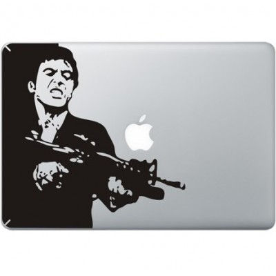 Scarface MacBook Aufkleber