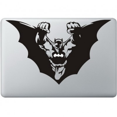 Batman fliegt Macbook Aufkleber