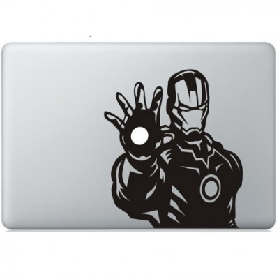 Iron Man (6) Macbook Aufkleber