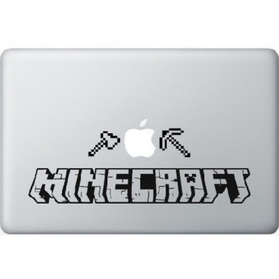 Minecraft Macbook Aufkleber