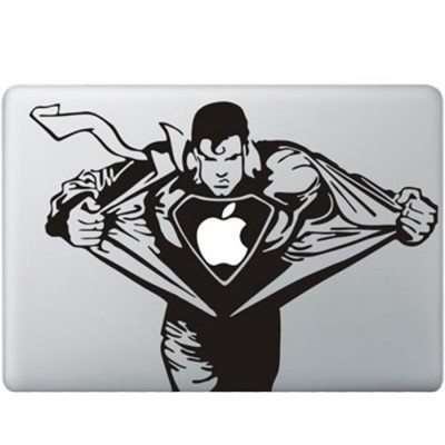 Superman MacBook Aufkleber