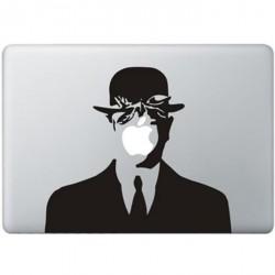 Magritte MacBook Aufkleber