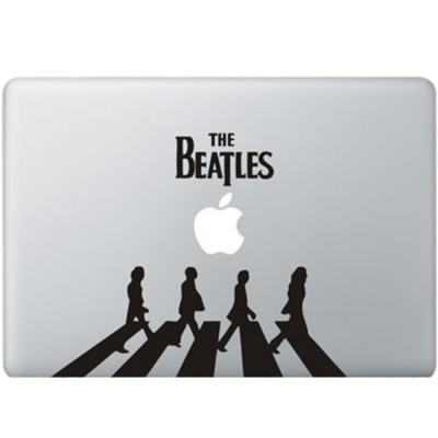 The Beatles MacBook Aufkleber Schwarz MacBook Aufkleber