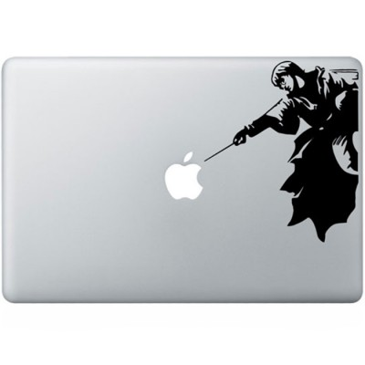 Harry Potter MacBook Aufkleber Schwarz MacBook Aufkleber