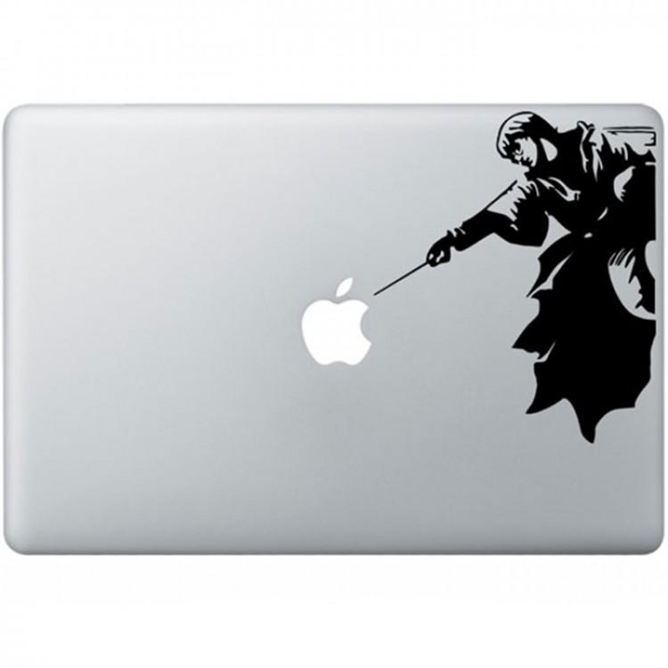 Harry Potter MacBook Aufkleber Schwarz MacBook Aufkleber