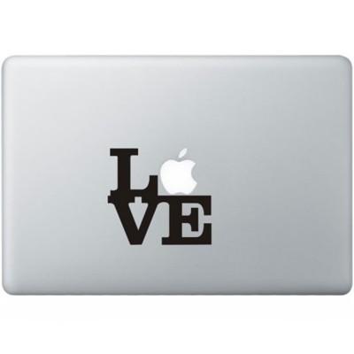 Liebe MacBook Aufkleber