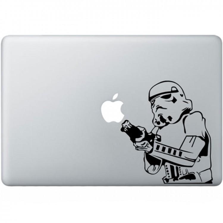 Stormtrooper MacBook Aufkleber Schwarz MacBook Aufkleber