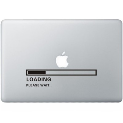 Apple Loading MacBook  Aufkleber