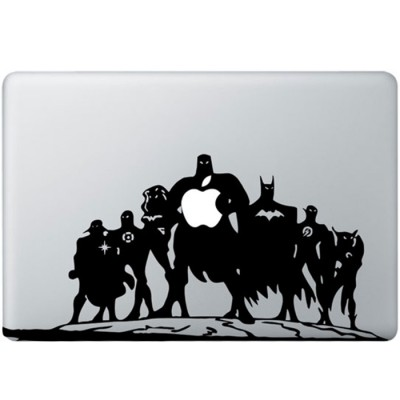Justice League MacBook Aufkleber