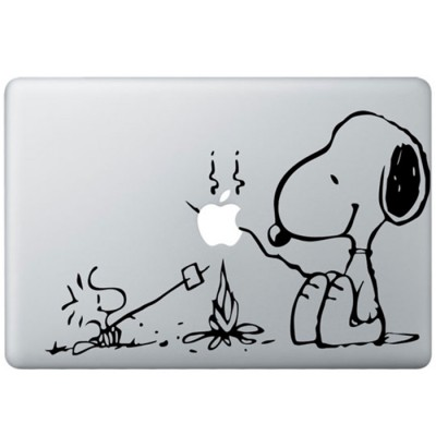 Snoopy MacBook Aufkleber