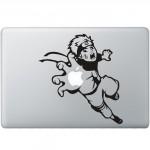 Scarface MacBook Aufkleber Schwarz MacBook Aufkleber