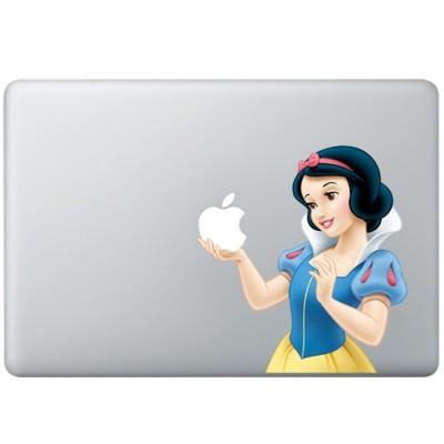 Schneeuwittchen Animation Farbig MacBook Aufkleber Fabrige MacBook Aufkleber