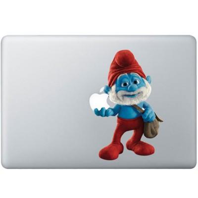 Papa Smurf farbig MacBook Aufkleber   Fabrige MacBook Aufkleber