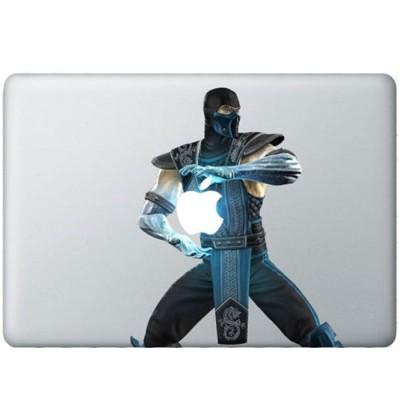 Sub-Zero Farbig MacBook  Aufkleber