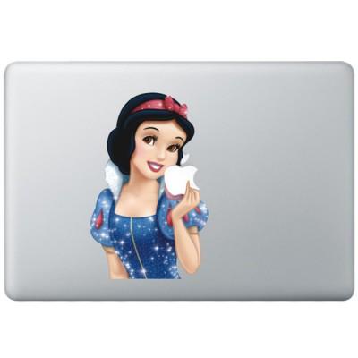 Sneeuwwitje Animatie (2) Kleur MacBook Sticker
