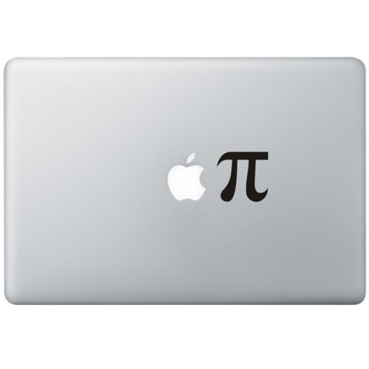 Apple Pie MacBook Aufkleber Schwarz MacBook Aufkleber