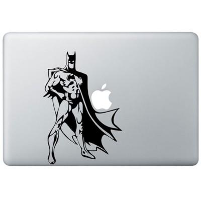 Klassisch  Batman MacBook Aufkleber Schwarz MacBook Aufkleber