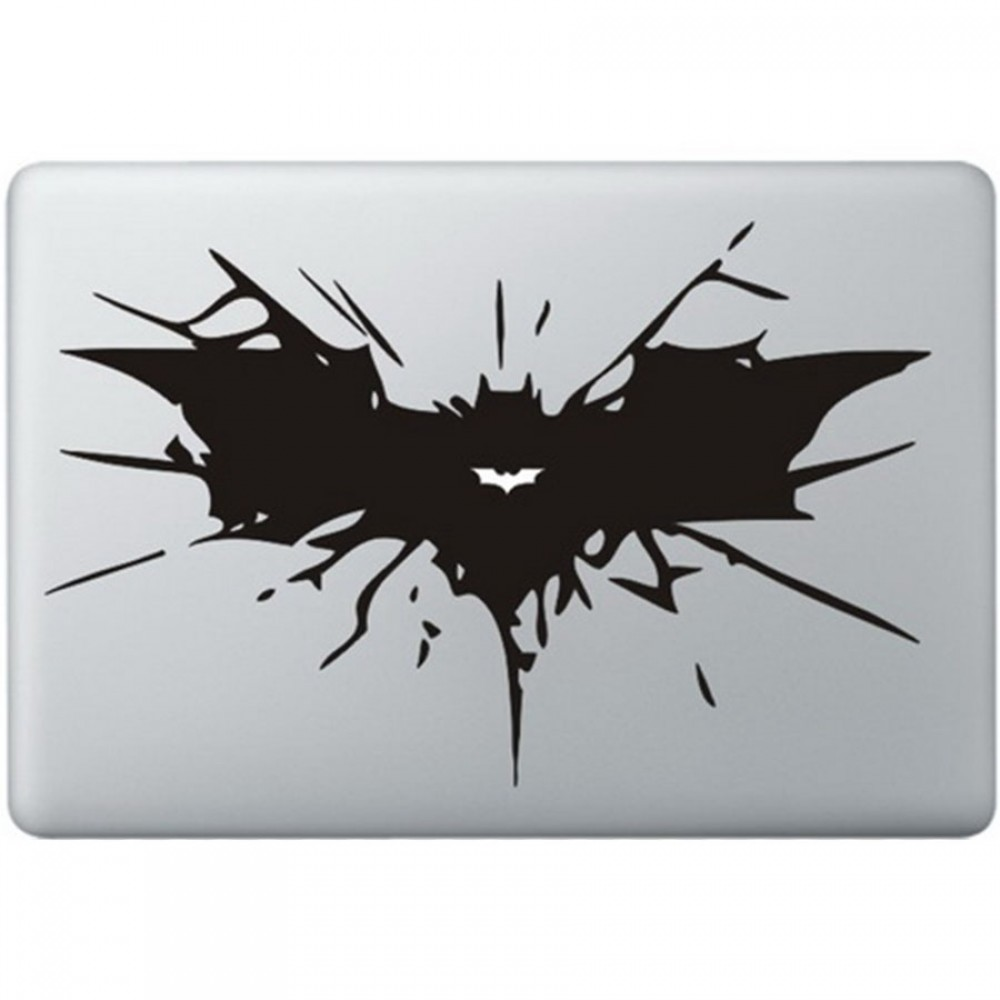 Batman Logo Macbook Aufkleber Macskins Macbook Aufkleber