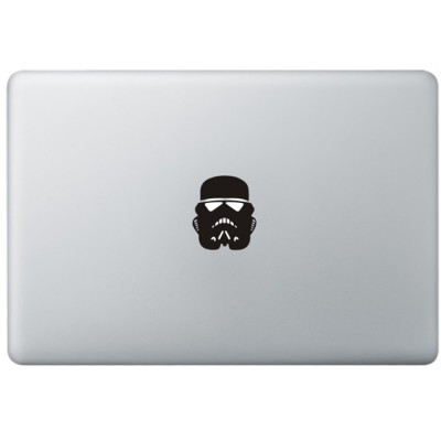 Stormtrooper Mask MacBook Aufkleber