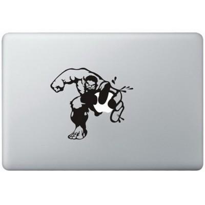Hulk MacBook  Aufkleber Schwarz MacBook Aufkleber