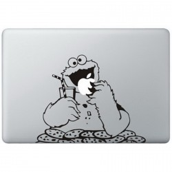 Cookie Monster (2) MacBook Aufkleber