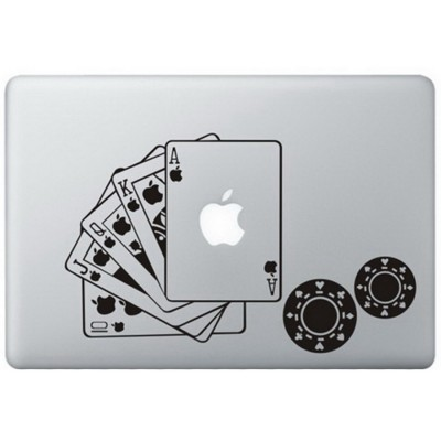 Poker MacBook Aufkleber