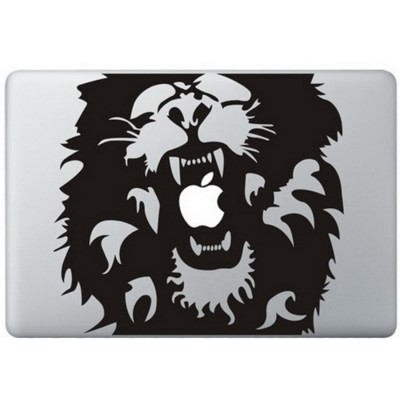 Löwe  (Roar) MacBook Aufkleber