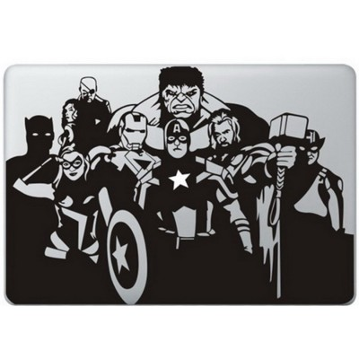 The Avengers MacBook  Aufkleber