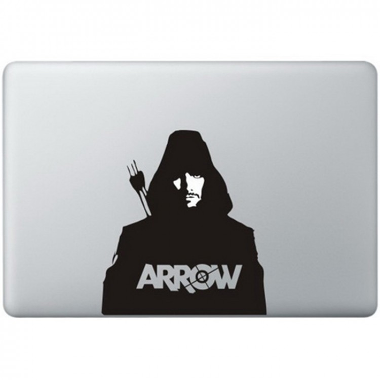 Arrow MacBook Aufkleber Schwarz MacBook Aufkleber