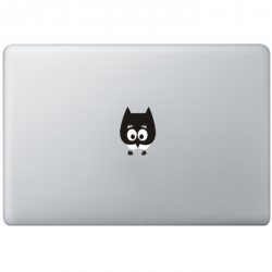 Baby Eule MacBook Aufkleber