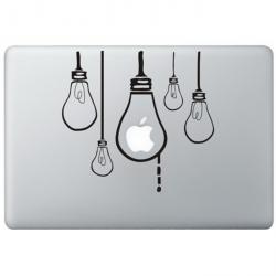 Hängende Birnen MacBook Aufkleber