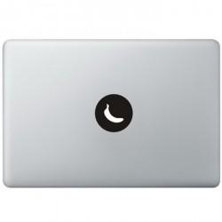 Banane Logo MacBook Aufkleber