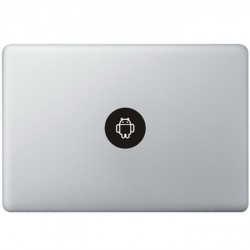 Android Logo MacBook Aufkleber