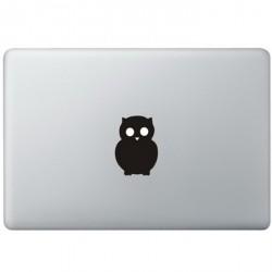 Eule Logo MacBook  Aufkleber