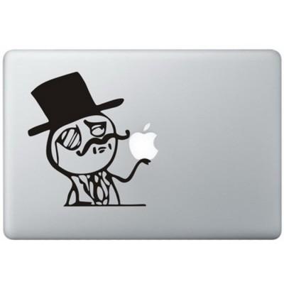 Wie ein Adliger MacBook Aufkleber