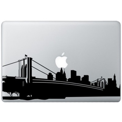 New York MacBook Aufkleber