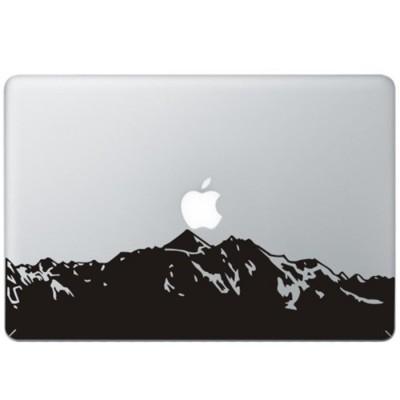 Berge MacBook Aufkleber
