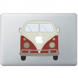 Volkswagen Bus Farbig MacBook Aufkleber