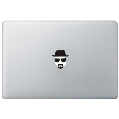 Breaking Bad Heisenberg MacBook Aufkleber