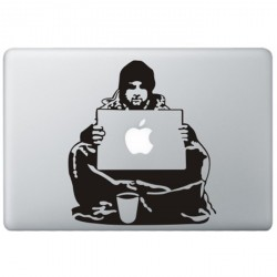 Banksy Bum MacBook  Aufkleber