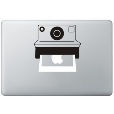 Polaroid Kamera MacBook  Aufkleber