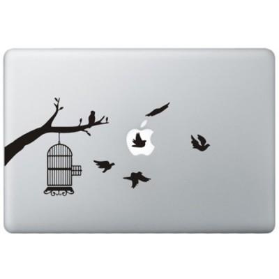 Vögel MacBook Aufkleber