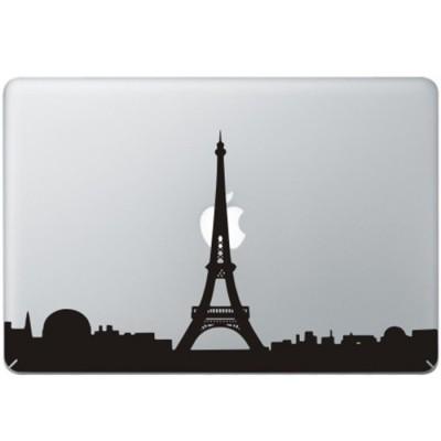 Paris  Eifel Turm MacBook Aufkleber Schwarz MacBook Aufkleber