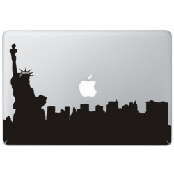 New York Freiheits Statue MacBook Aufkleber