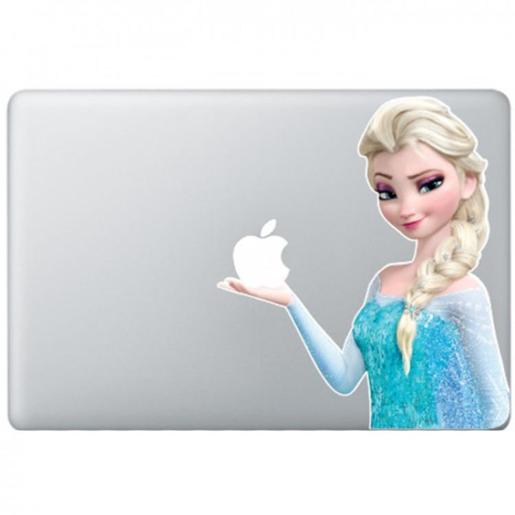Elsa Frozen MacBook  Aufkleber Fabrige MacBook Aufkleber