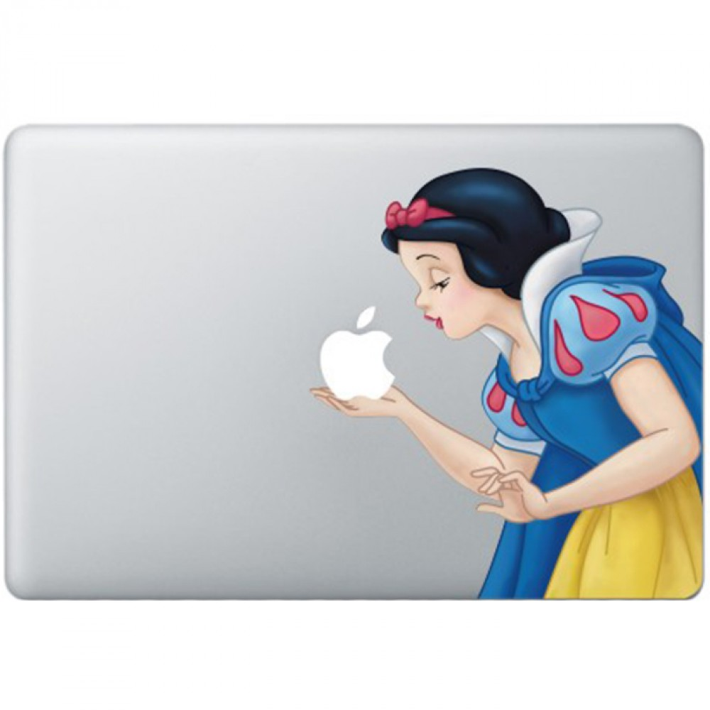 Schneewittchen Farbig 2 Macbook Aufkleber Macskins Macbook Aufkleber